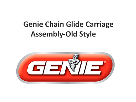 Genie Chain Glide Carriage Assembly Old Style