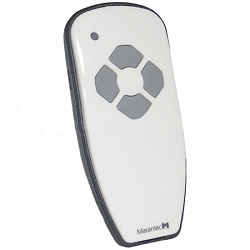 REMOTES & KEYPADS - 4 Channel White Glossy Transmitter
