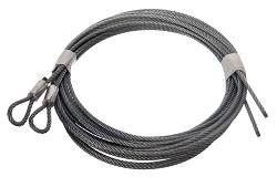 Garage Door Pair TORSION CABLE. 8' DOOR - 1/8