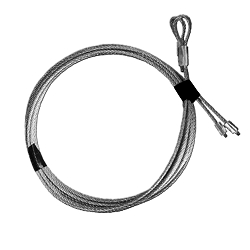 Garage Door Pair Torsion Cable, 7' Door - 1/8