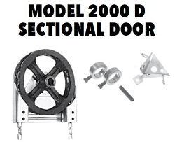 Garage Door Model 2000 D Chain Hoist - 1