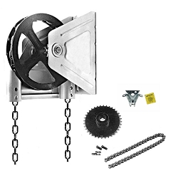Garage Door Chain Hoist Model 2000 R Chain Hoist - 1-1/4