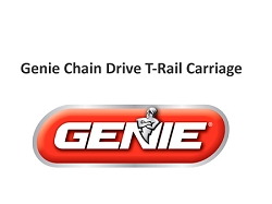 Genie Chain Drive T-Rail Carriage