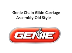 Genie Chain Glide Carriage Assembly-Old Style