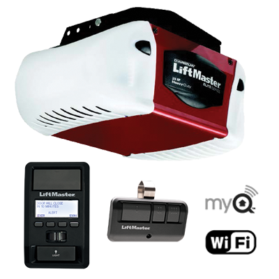 Liftmaster Garage Door Model 8587w 3 4 Hp Elite Series Opener