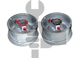 Garage Door CABLE DRUMS PAIR D400-144 (12') STANDARD LIFT