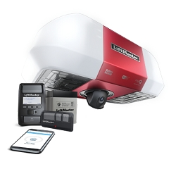 Liftmaster 85503-267 DC Battery Backup Belt Drive Wi-Fi With Integrated Camera Garage Door Opener ( Rail Included )