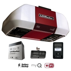 Liftmaster 8550WLB DC Battery Backup Belt Drive Wi-Fi Garage Door Opener ( Rail Included )