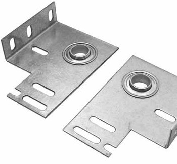 "Garage Door 3 3/8"" Commercial End Bearing Brkt ( Pair )"