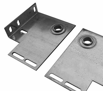 Garage Door 4 3/8  Commercial End Bearing Brkt ( Pair )